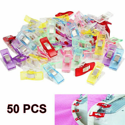 50/100PCS Pack Clover Clips for Crafts Quilting Sewing Knitting Crochet  pmz