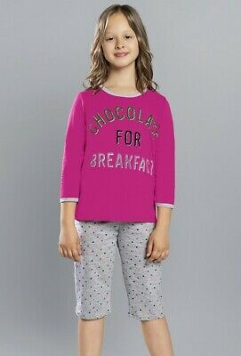 COCO Pyjama Fillette en coton Italian Fashion