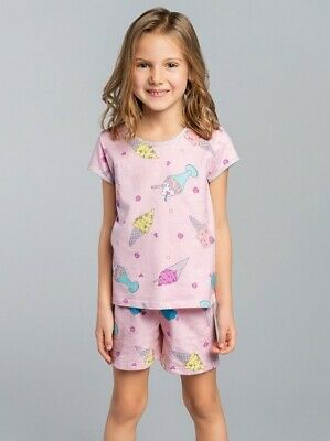 GELATO Pyjama court Fillette en coton Italian Fashion