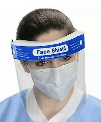 1 Pc Protective Full Face Safety Isolation Visor Eye Face Protector Shield