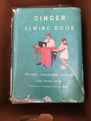 1954 Singer Sewing Book by Mary Brooks Picken