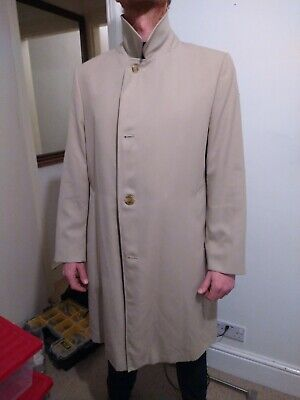 BNWT. M/&S Boys Country Camel Wool Coat Age 13-14// Young man RRP £48
