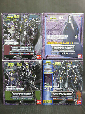 BANDAI Saint Seiya Myth Cloth HADES Big3 Griffin Wyvern Garuda + Pandora set
