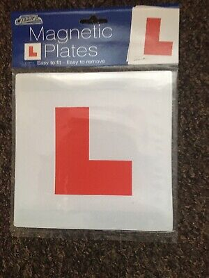 MAGNETIC L PLATES STOCK CLEARANCE *free post* will post the same day.