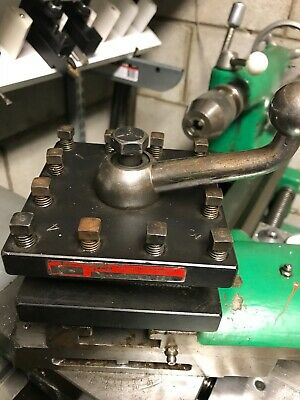 """Enco 4-way toolpost for Colchester 13"""" lathe"""