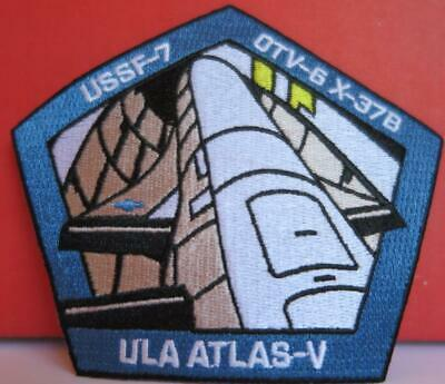 Atlas V Ussf-7 Orbital Test Vehicle 6 (Otv-6) Patch Usaf Space Vehicle Mission
