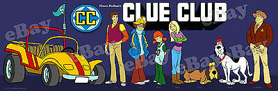 EXTRA LARGE! CLUE CLUB Panoramic Photo Print HANNA BARBERA Woofer & Wimper