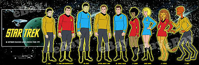 EXTRA LARGE! STAR TREK The Animated Series Panoramic Photo Print FILMATION