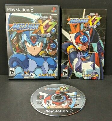 Mega Man X7 (Sony PlayStation 2, 2003) PS2 Complete