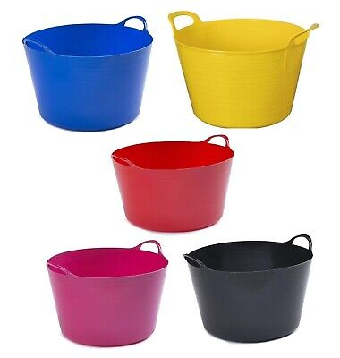 FLEXI TUB // BUCKET // TRUG AVAILABLE IN 5 SIZES UK MADE!! CHOOSE YOUR COLOUR