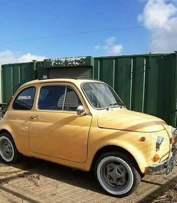Classic Fiat 500 , Original UK RHD, Just Lovely! and was owned by a famous chef