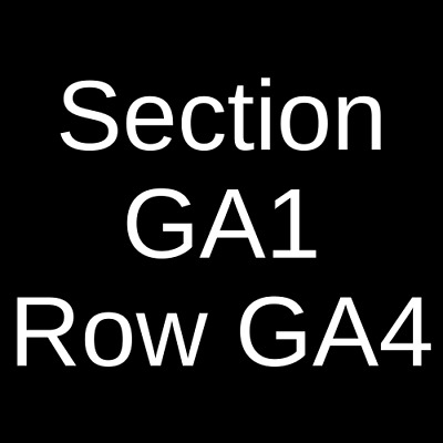 4 Tickets Soulwax 10/5/20 Danforth Music Hall Theatre Toronto, ON