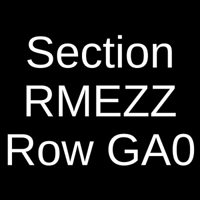 2 Tickets Snow Patrol 10/19/20 Queen Elizabeth Theatre - Toronto Toronto, ON