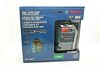 Bosch GLL 2-20 S 360 Degree Line and Cross Laser
