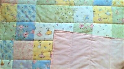 Baby Quilt, New, Crib, Handmade, Sewing