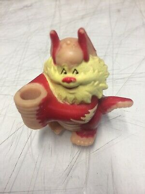 Burger King Unused in Baggie Vintage 1986 Thundercats Snarf Straw Holder