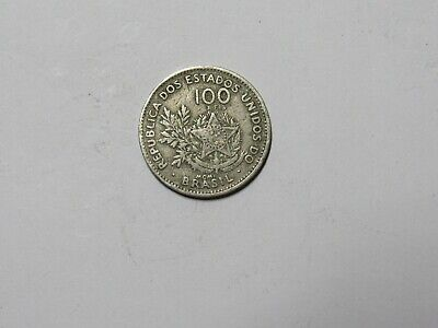 Old Brazil Coin - 1901 100 Reis - Circulated