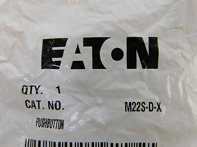 Eaton NSB M22S-D-X Pushbutton Non-Illuminated Black