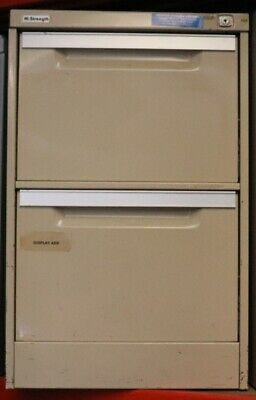 Filing Cabinet - Coform - 2 Drawer with no key - Second Hand - E5