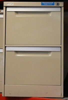 Filing Cabinet - Coform - 2 Drawer with key - Second Hand - E6
