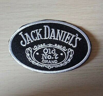 JACK DANIEL'S Iron on / Sew on Patch Embroidered Badge