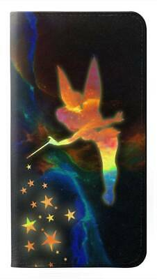 W2583 Tinkerbell Magic Sparkle Flip Case for IPHONE Samsung ETC