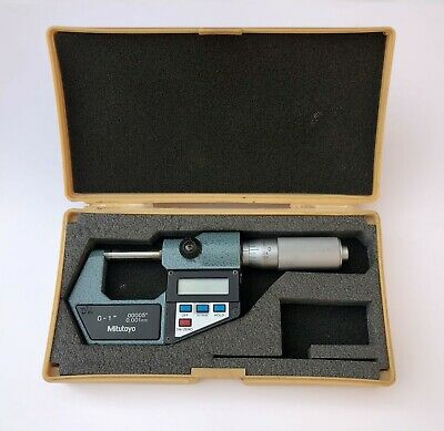 Mitutoyo 293-766 Digimatic Digital Micrometer 0-1"