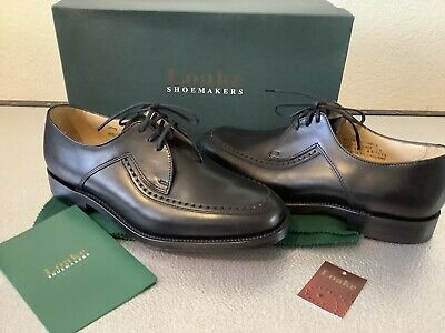 various sizes Loake Fontwell Black men/'s shoes G fitting Made in England