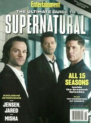 The Ultimate Guide To Supernatural Brand New 2020 Entertainment Weekly Magazine