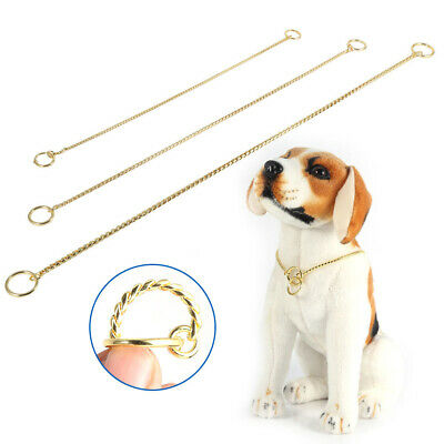 Pet Choke Chain GoldSilver Collar Necklace For Small Dog French Bulldog Cool