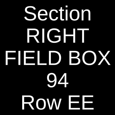 4 Tickets Toronto Blue Jays @ Boston Red Sox 9/23/20 Fenway Park Boston, MA