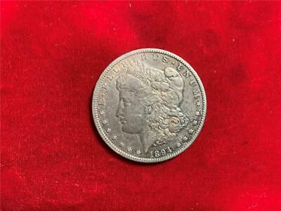 U.s. 1894-O Morgan Dollar Xf Details Cleaned With Some Surface Hairlines