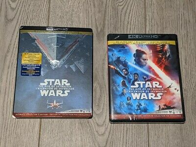 Star Wars Rise of the Skywalker (Blu-ray + 4K UHD) BRAND NEW!! with Slipcover