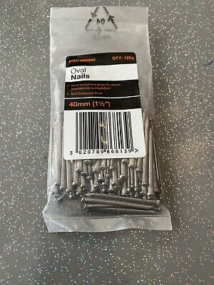 OVAL NAIL (L)40MM 125G PACK, Free Postage Uk Only