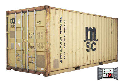 20FT Quality Used Shipping Container For Sale in Chicago, IL - We Deliver