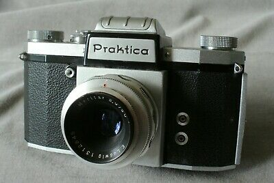 Praktica III with pre set Meritar. Very rare ! NOT an FX2 !