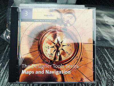 PhotoDisc 3 The Designer Tools Series Maps and Navigation 6018KIT
