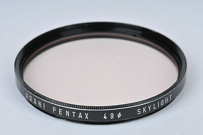 Genuine Asahi Pentax 49mm UV Filter Ghostless Circular Filter