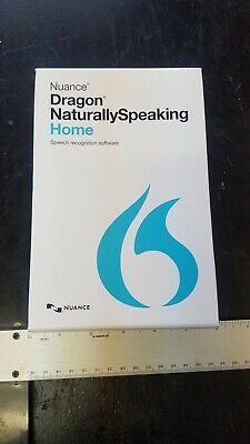 Nuance Dragon Naturally Speaking Home 13 (Old Version) English