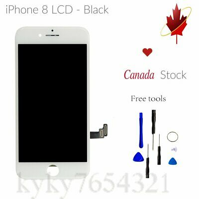 "For iPhone 8G LCD Display Digitizer Touch Screen Replacement 4.7"" White 3D Touch"