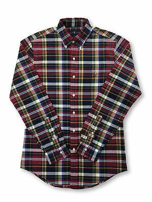 Ralph Lauren custom fit cotton casual shirt in multi colour check S