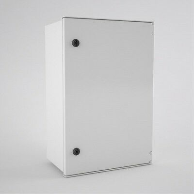 BRES64 Electrical Enclosure GRP Polycarbonate Cabinet 600x400x230mm IP66