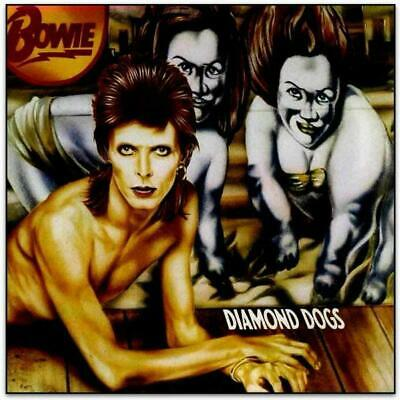 BOWIE – DIAMOND DOGS LIMITED RED VINYL LP 45th ANNIVERSARY EDITION (NEW)
