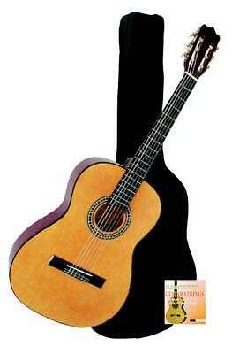 Full Size 4/4 Beginner Pack Classic Acoustic Guitar includes Bag Nylon Strings