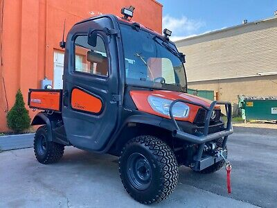 Loaded Kubota RTV X1100C, Hydraulic Dump, AC/HEAT, 4X4, MIRRORS, BRAND NEW WINCH