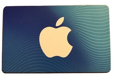 $25 Apple Gift Card (FREE SHIPPING! PLASTIC Card!)