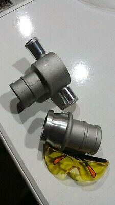 """Complete Male + female 64mm/2.5"""" Instantaneous Couplings.flood defence.fire hose"""