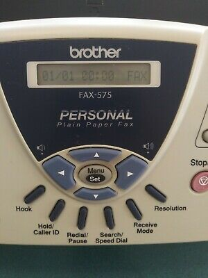 Brother Fax-575 Personal Plain Paper Fax Machine Phone And Copier