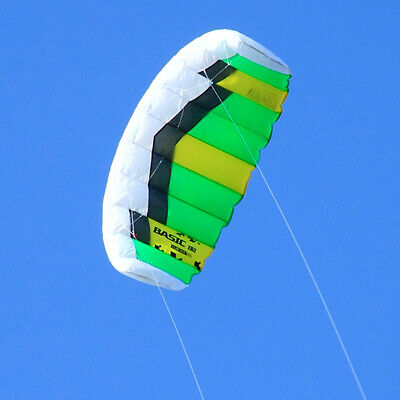 0.6sqm Sports 2 Line Traction Kites Outdoor Kitesurfing /& Power with Flying Set