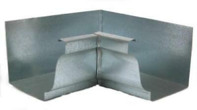 "5"" Mill Finish Galvanized Steel Inside Mitre Only One"